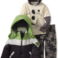 Baby Togs Boys 2-7 Jacket And Pant Set, Gray, 3T