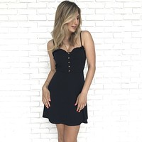 Sangria Little Black Dress