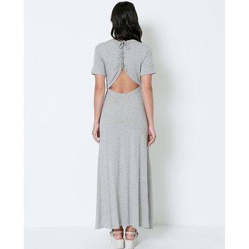 Easy Come Maxi Dress - Gray