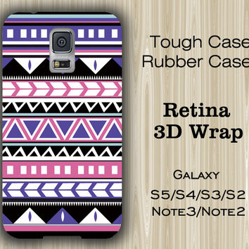 Aztec Tribal Geometric Pattern Samsung Galaxy S5/S4/S3/Note 3/Note 2 Case