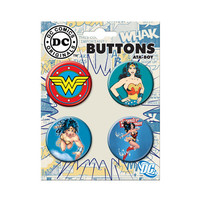 Wonder Woman Modern Button Set