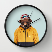 Polaroid n°14 Wall Clock by Francesca Miele (Natt)