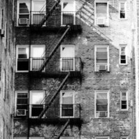 Rundown Building 8x12 Photography Print NYC New York by thebqe