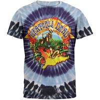 Grateful Dead - Coast To Coast Tie Dye T-Shirt