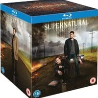 Supernatural: Season 1-8 [Blu-ray]
