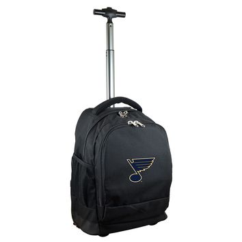 ST Louis Blues Wheeled Premium Backpack