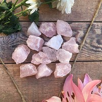 Raw Rose Quartz Crystal