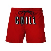 Netflix & Chill Board Shorts