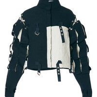 Contrast Slash Sleeve Jacket | Moda Operandi