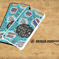 The Fault In Our Stars Collage Samsung Galaxy S3 S4 S5 Note 3 , iPhone 4(S) 5(S) 5c 6 Plus , iPod 4 5 case
