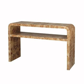Marshall Waterfall Edge Console Table