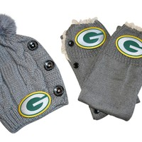 Packers Beanie and or Leg Warmers
