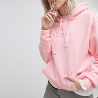 Rip N Dip Oversized Hoodie With Embroidered Logo Front at asos.com