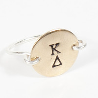 Circle Sorority Ring