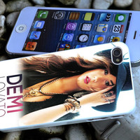 demi lovato iPhone 4 4S iPhone 5 5S 5C and Samsung Galaxy S3 S4 Case