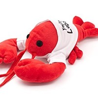 """""""You're My Lobster"""" Plush (White T-Shirt) - Inspired by the Friends TV Show"""