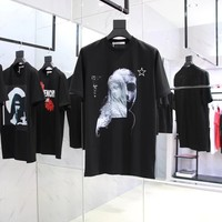 givenchy 2018ss Virgin Mary t shirt  001