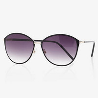 Metal Frame Cat Eye Sunglasses from EXPRESS