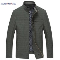 New Arrivals Plaid Jackets Men Coats & Jackets Casual Male Jackets Outerwear Coats For Male Clothing