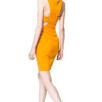 DRESS WITH CUT - OUT DETAIL AT THE  BACK - Dresses - Woman | ZARA United States
