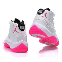 Nike Jordan Sneakers Sport Shoes Retro 11 PinkIce