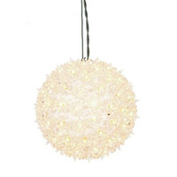 Lighted Hanging Star Sphere - Number Of Bulbs On Outside Of Sphere: 100