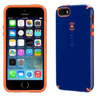 Speck CandyShell Cell Phone Case for iPhone 5/5s - Blue/Orange (SPK-A2681)