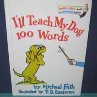 "Dr Seuss Beginner  ""I'LL TEACH MY DOG 100 WORDS"""
