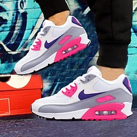 Nike Air Max 90 cushioning casual running shoes