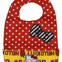 Infant Ju-Ju-Be for Hello Kitty 'Be Neat' Reversible Bib - Yellow