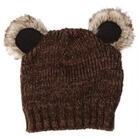 Furry Woodland Critter Hat