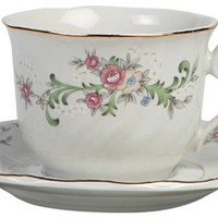 Lynns Clarabelle Cup and Saucer, Set of 6