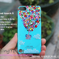 Ipod touch 5 case bling case hot balloon iphone case UP iphone 5 case iphone 5s case iphone 5c case ipad mini case samsung galaxy s4 case