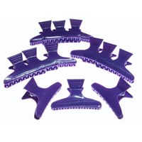 These clips from Hair Tools are 'GREAT' and can hold lots of hair with a unique butterfly clamp