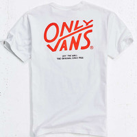 Vans X ONLY NY Pocket Tee - Urban Outfitters
