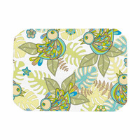 "Julia Grifol ""Summer Birds"" Green Lime Place Mat"