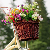 French Country Bicycle Basket
