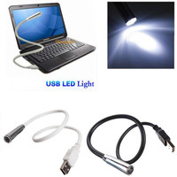 Fashion Portable Mini Flexible USB LED Light Torch Flashlight For PC Notebook Laptop Computer Keyboard Night Reading Lamp