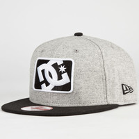 Dc Shoes Buzzcut New Era Mens Snapback Hat Pewter One Size For Men 23519411401