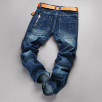 Men's Fashion Stylish Slim Pants Jeans [6527212035]