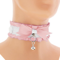 Kitten play collar, bdsm, DDLG, Petplay 3X