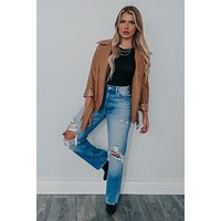 Mutual Attraction Jacket: Camel