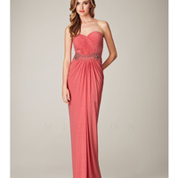 Mignon Spring 2014 Dresses - Lipstick Strapless Sweetheart Long Prom Dress