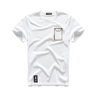 Cotton Short Sleeve Summer Men T-shirts [10488645827]