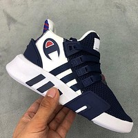 Adidas EQT x Champion Girls Boys Children Baby Toddler Kids Child Fashion Casual Sneakers Sport Shoes