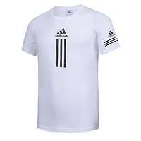Adidas Fashion Men Summer Sport Casual Short Sleeve T-Shirt Top White
