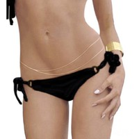 Belly Body Double Chain Waist Link