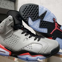 "Air Jordan 6 ""3M Reflective Infrared"""