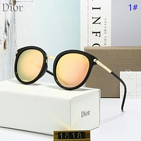 Dior New Fashion Polarized Women Men Sun Protection Leisure Glasses Eyeglasses 1#