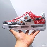 PEACEMINUSONE x Nike Air Force 1 Low-Top Classic Wild Casual Sneakers Shoes